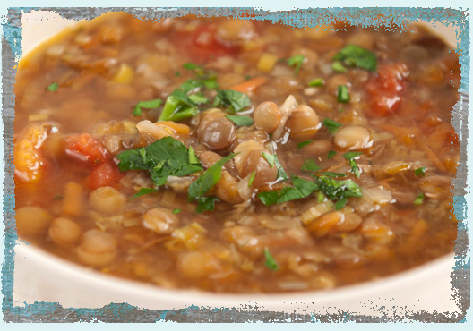 Суп чечевица с курицей рецепты
