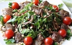 Острый салат